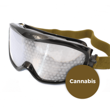 Lunettes simulation cannabis