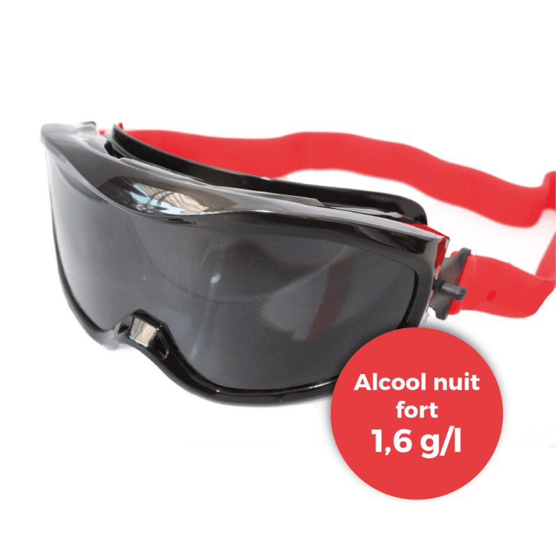 8316ccb1dbefd Lunettes simulation alcool nuit forte (1
