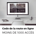 Code de la route en ligne (- de 1000 collaborateurs)