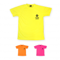 T-shirt de sport fluorescent personnalisable « Dry Fit »