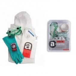 Kit jetable de protection amiante