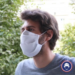 Masque AFNOR UNS 1 non-tissé lavable 50 fois Made In France