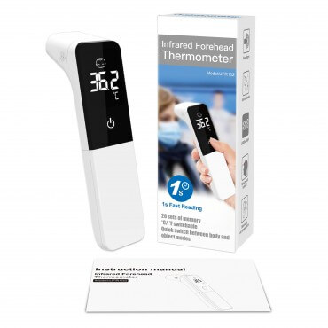 Thermomètre frontal portable infrarouge sans contact
