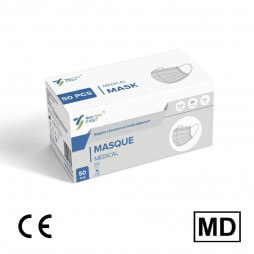 Masque chirurgical normes médicales type 2R