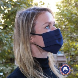 Masque UNS2 coton lavable +50 fois - Made in France