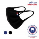 Masque UNS1 lavable 100 fois - drapeau made in France