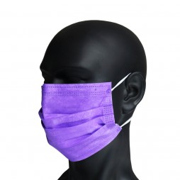 Masque chirurgical violet type IIR