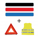 Kit triangle et gilet