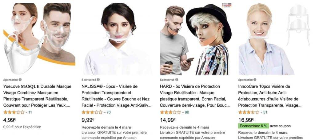 Masque transparent : pour quel professionnels ?