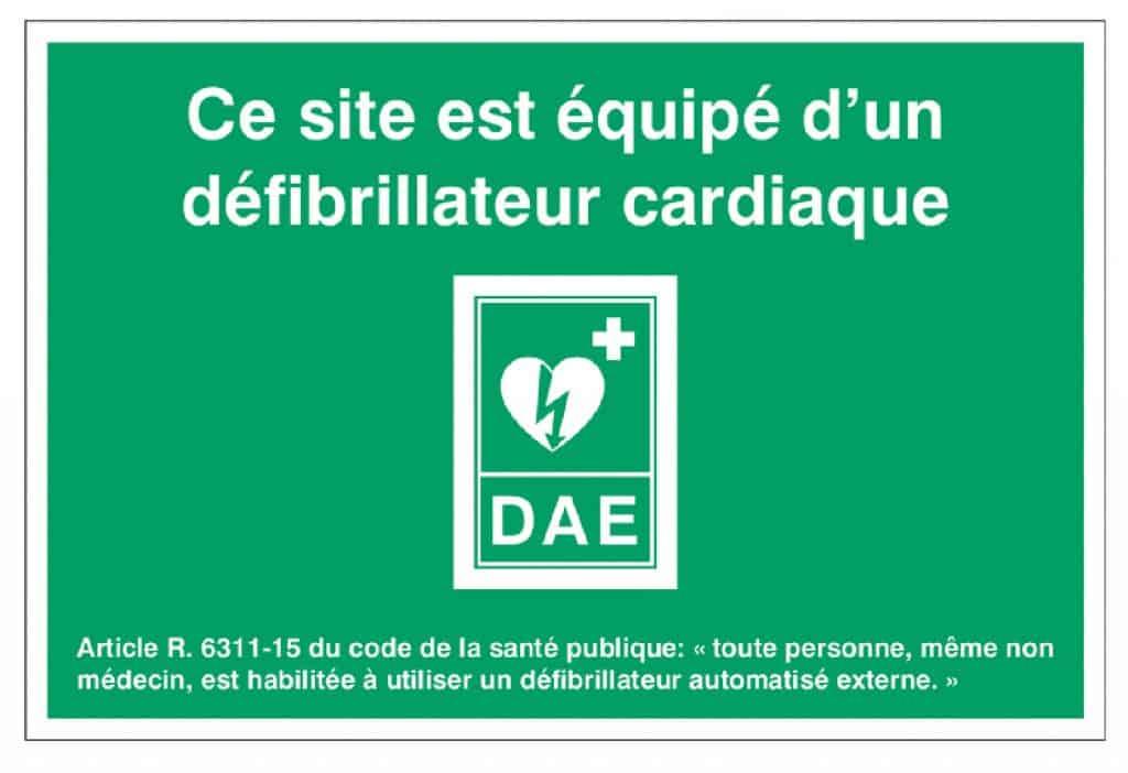 Obligation défibrillateur 1