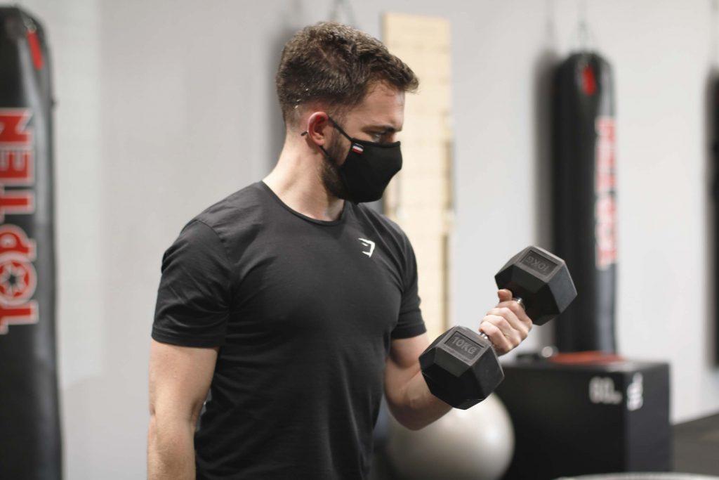 Masque homologué salle de sport