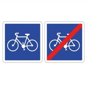 panneau cyclistes C113 C114