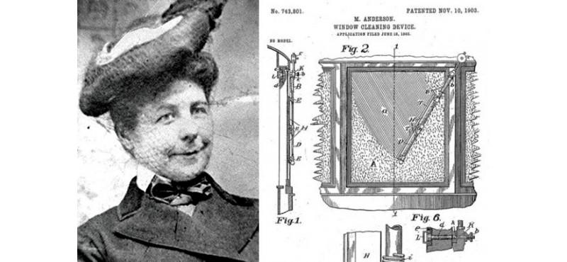 Inventrice de l'essuie-glace-