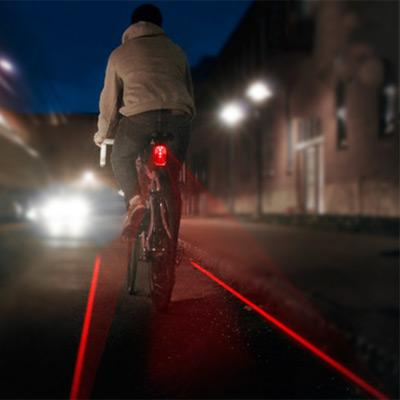 Lampe vélo et éclairage