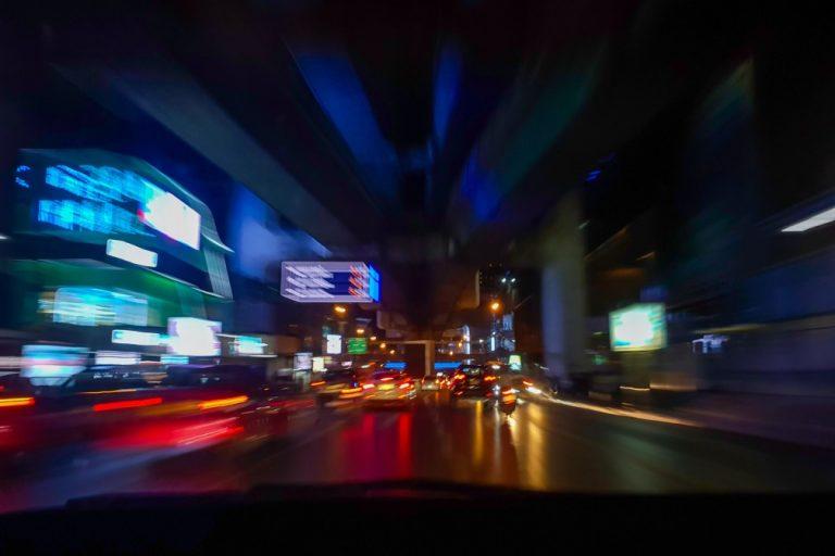 fatigue au volant et vue trouble