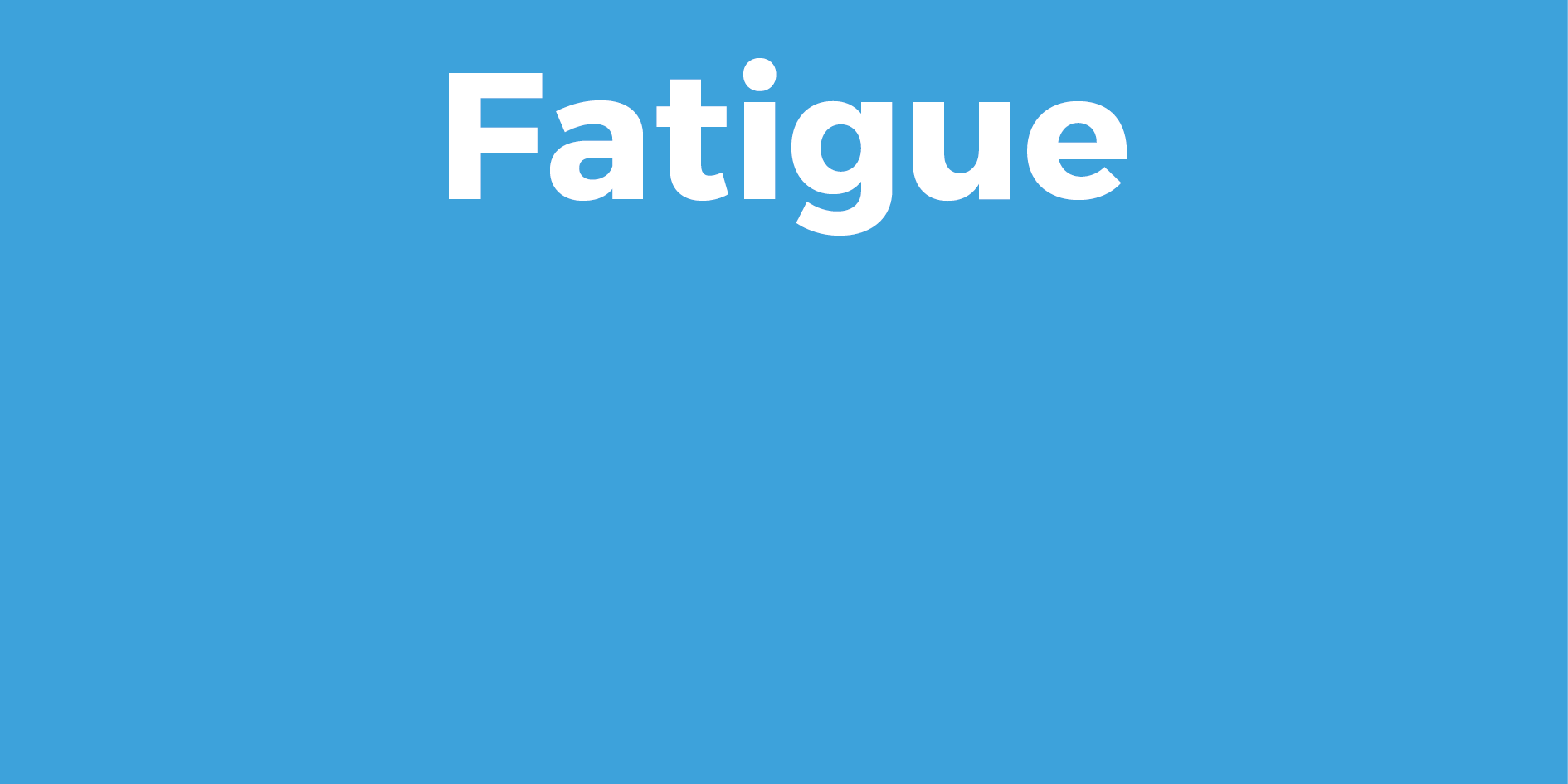Risques de la fatigue